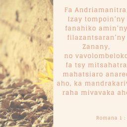 Fanambarana ny Vaovao Mahafaly